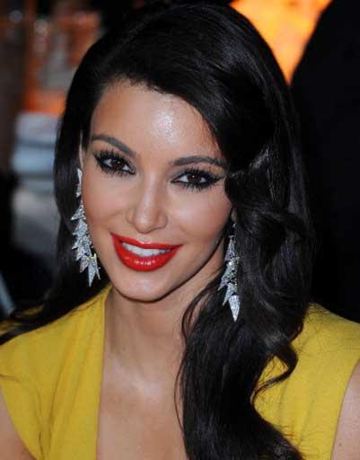 Неудачный макияж Ким Кардашьян