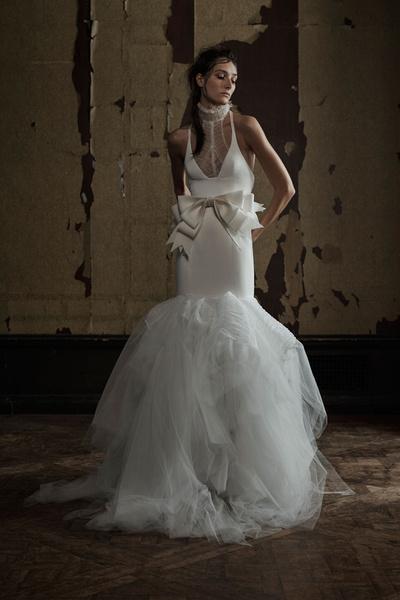 50 самых красивых платьев со Свадебной Недели Моды в Нью-Йорке | галерея [1] фото [9]