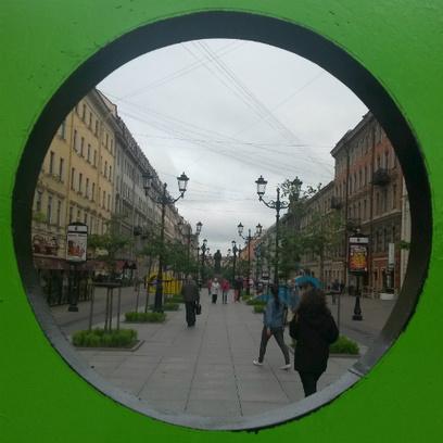 Инстаграм-выставка «Лето в Питере»