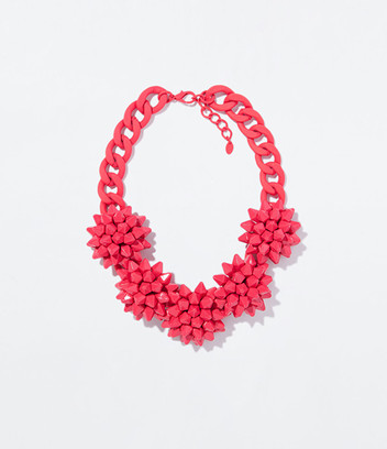 Цветочное ожерелье Zara