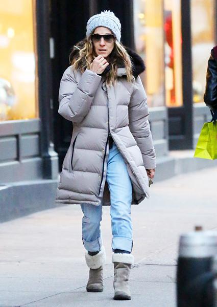 С чем носить угги зимой: фото