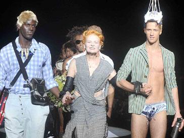 Вивьен Вествуд (Vivienne Westwood) - королева подиумов