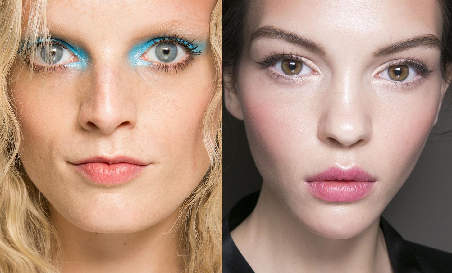 Как уменьшить глаз с помощью макияжа фото