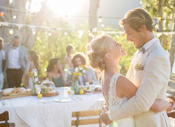 Скромная свадьба на природе своими руками