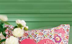 Чехол для подушки: декор своими руками