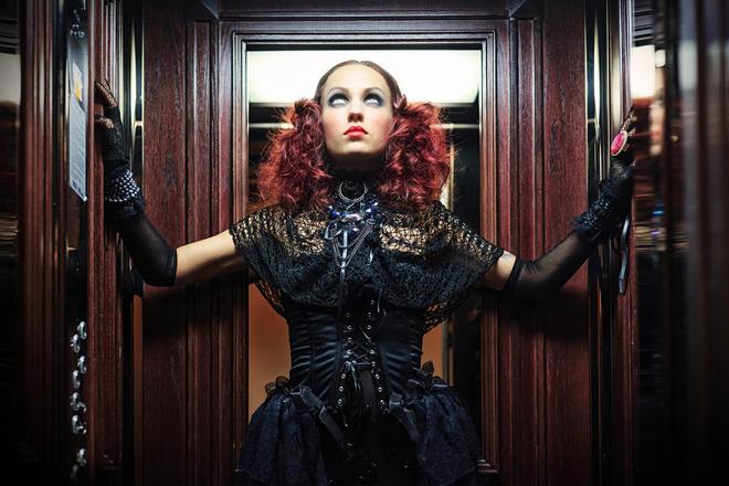 готический стиль одежды для девушек
