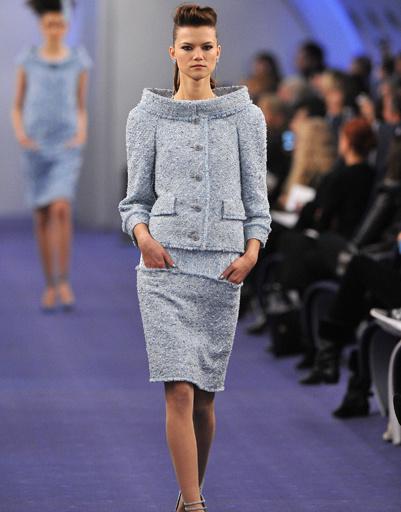 Показ Chanel Haute Couture, коллекция весна-лето 2012