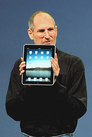 Глава корпорации Apple Стив Джобс на презентации в Сан-Франциско продемонстрировал долгожданную новинку – планшетный компьютер iPad, который уже многие журналисты окрестили «большим iPhone».