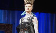 В России сшили платье из наноткани