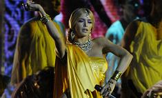 Брежнева стала на вечер индийской богиней