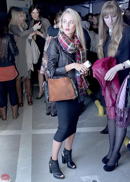 Зрители – модный look на LFW