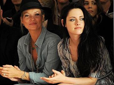 Кейт Мосс (Kate Moss) и Кристен Стюарт (Kristen Stewart)