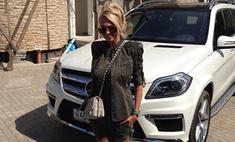 Яна Рудковская купила новую машину