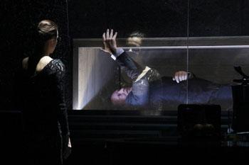 Сцена из спектакля «Карамазовы» К. Богомолова (МХТ им. Чехова)