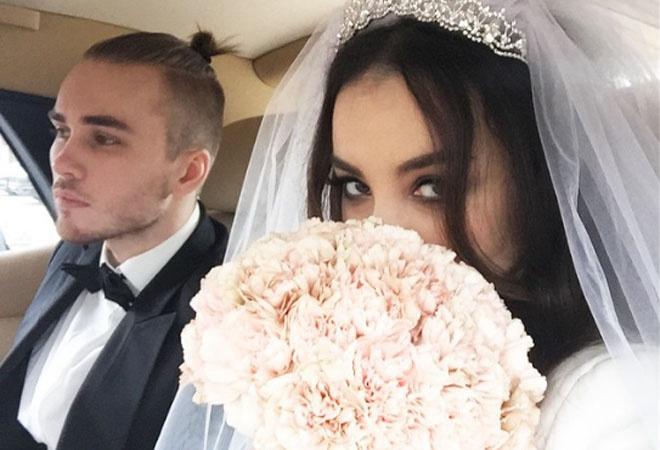 Дайнеко и Клейман поженились: фото