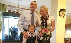 Анастасия Волочкова отвела дочь в первый класс