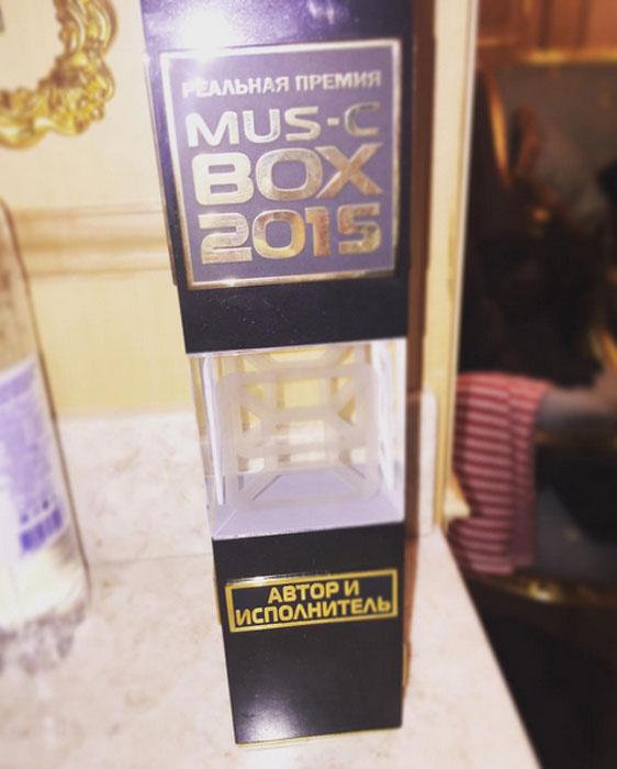 Реальная премии MusicBox 2015, Ирина Дубцова