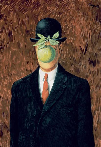 Рене Магритт. «Вкус невидимого», 1964 год.