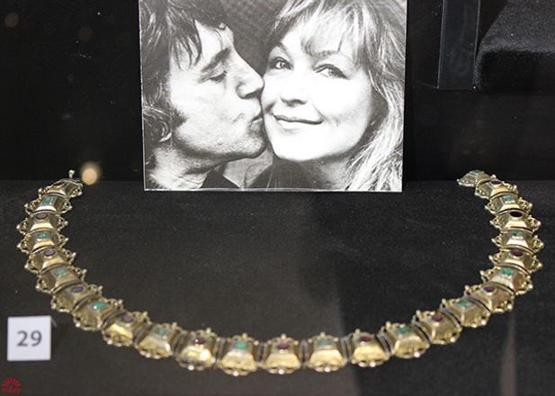 Ожерелье из бронзы, музей Высоцкого, фото