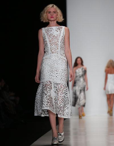 Mercedes-Benz Fashion Week Russia: коллекция Giles весна-лето 2013