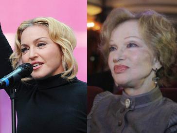 Мадонна и Людмила Гурченко
