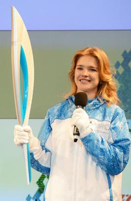 Наталья Водянова в Сочи