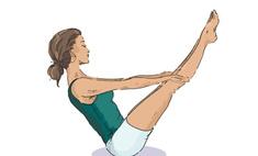Йога: 5 простых упражнений для пресса
