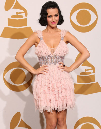 "Кэти Перри (Katy Perry) на ""Грэмми"", 2010 год"