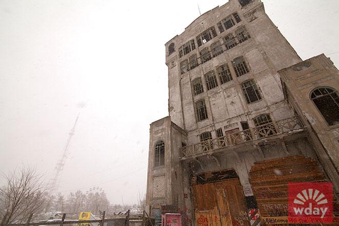 Вторая «Кировка» и элеватор-гостиница