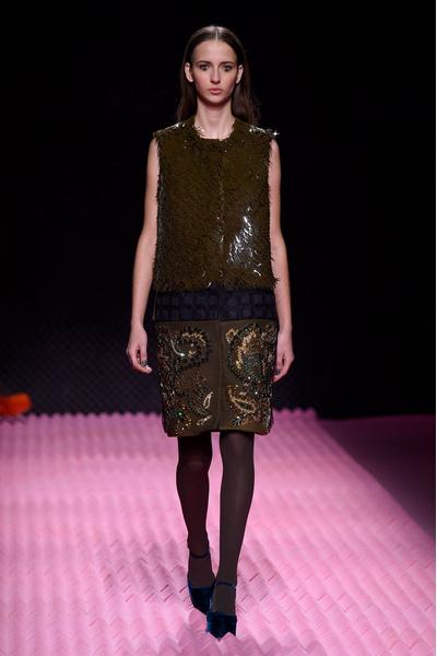 Показ Mary Katrantzou на Неделе моды в Лондоне | галерея [1] фото [12]