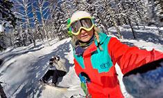 Покоряя вершины: красавицы-сноубордистки Новосибирска