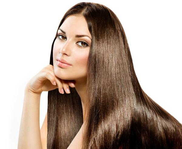 Выравнивание цвета волос