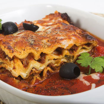 рецепт настоящей вкусной лазаньи
