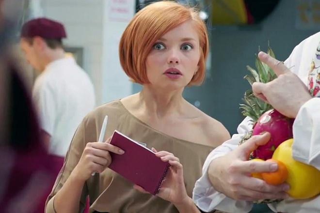 Сериал «Кухня» 5 сезон, Ольга Кузьмина, официантка Настя из сериала «Кухня»