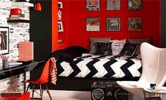 Страстный красный: огненный цвет в интерьере