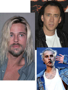 Самые странные прически знаменитостей: мужчины
