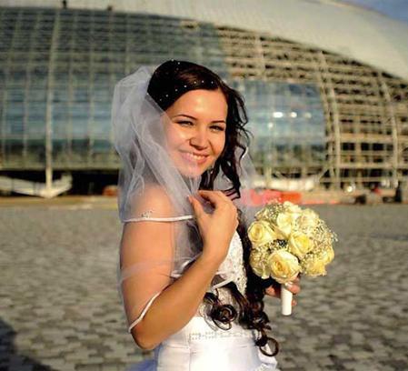 Свадьба в олимпийском Сочи