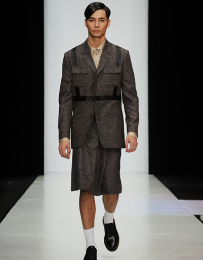 Mercedes-Benz Fashion Week: Leonid Alexeev, весна-лето 2012