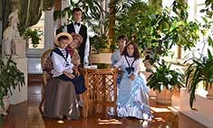Викторианская мода в Иркутске
