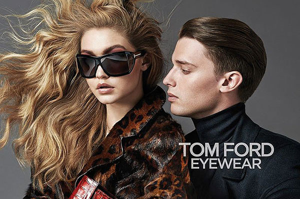 Патрик Шварценеггер в рекламе Tom Ford