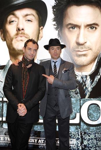 Джуд Лоу и Роберт Дауни-младший.