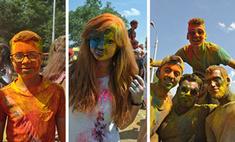 Фестиваль красок «Ирис» в Волгограде: смешные фото