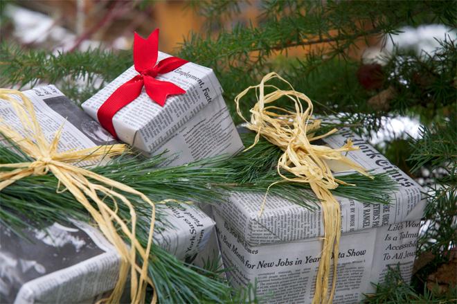 Не подарочная упаковка