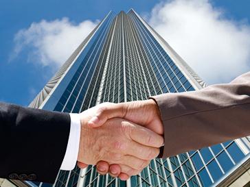 Дипломатическое соглашение. Рукопожатие