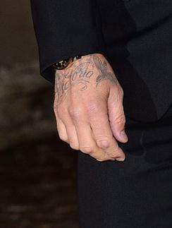 Татуировка Дэвида бекхэма
