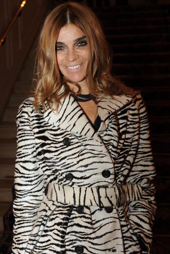 Редактор Vogue (Франция) Карин Ройтфельд