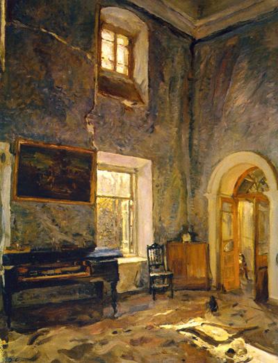 Валентин Серов «Зал старого дома. Усадьба Белкино», ГРМ