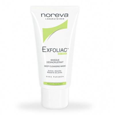Noreva, отшелушивающая маска Exfoliac Masque Desincrustant