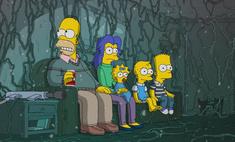 хэллоуинском выпуске симпсонов спародировали странные дела форму воды