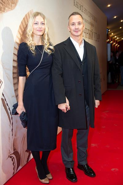 Степан Михалков с женой